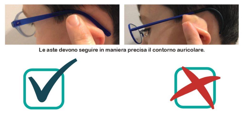 occhiali per bambini corato