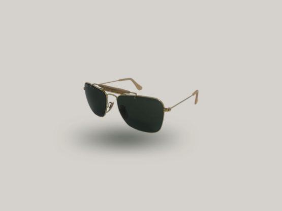 rayban caravan vintage occhiali da sole uomo