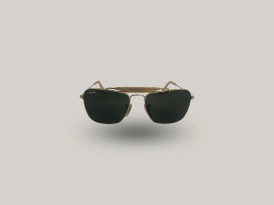 rayban caravan lenti in vetro occhiali da sole vintage