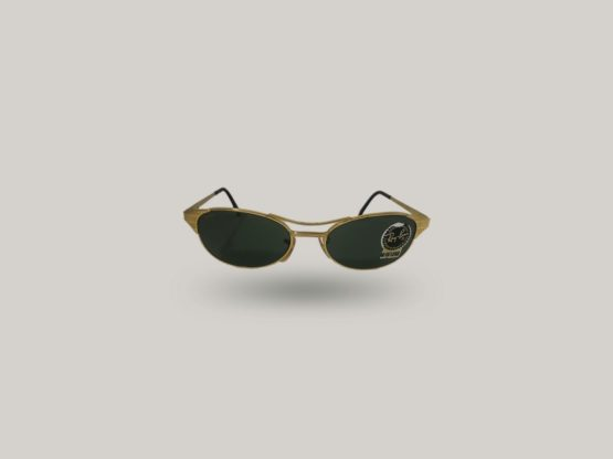 rayban signet w1394 occhiali vintage colore oro da uomo