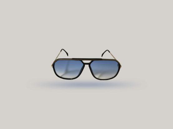 silhouette m2701 20 occhiali da sole vintage lenti blu