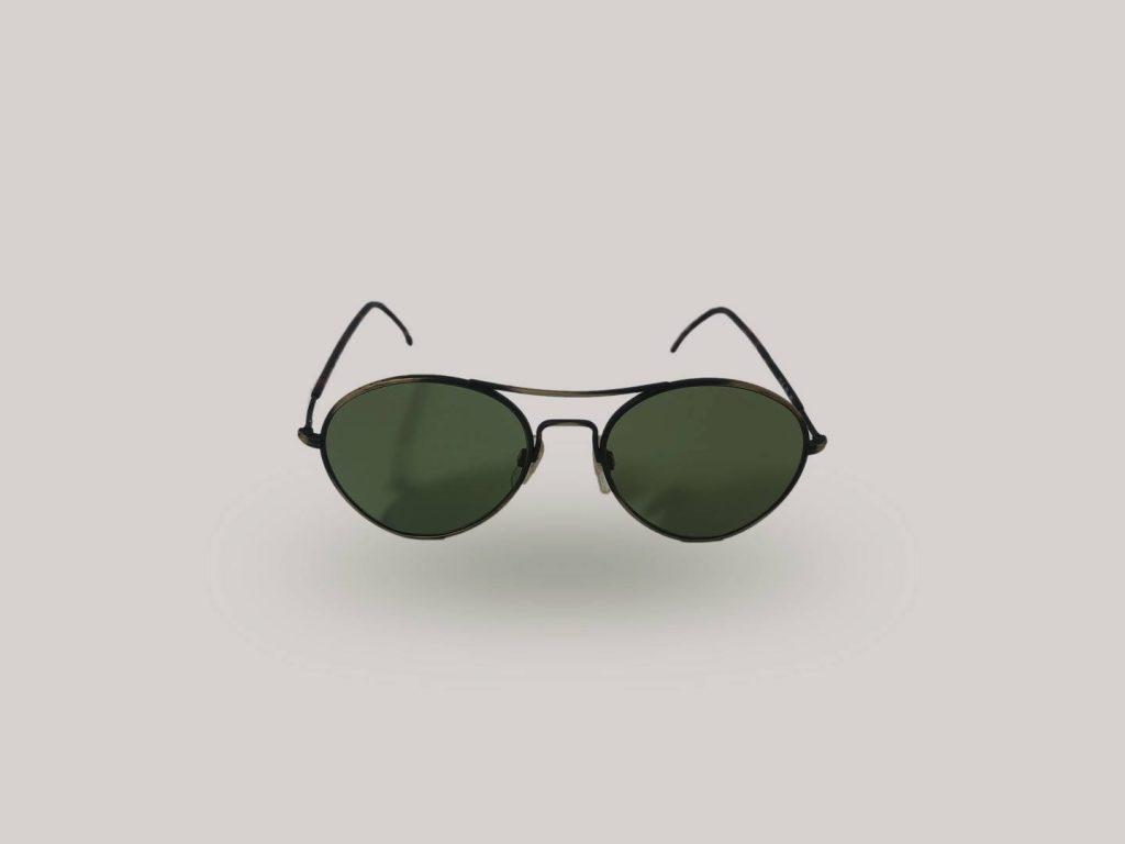 occhiali da sole vintage shop giorgio armani 117s