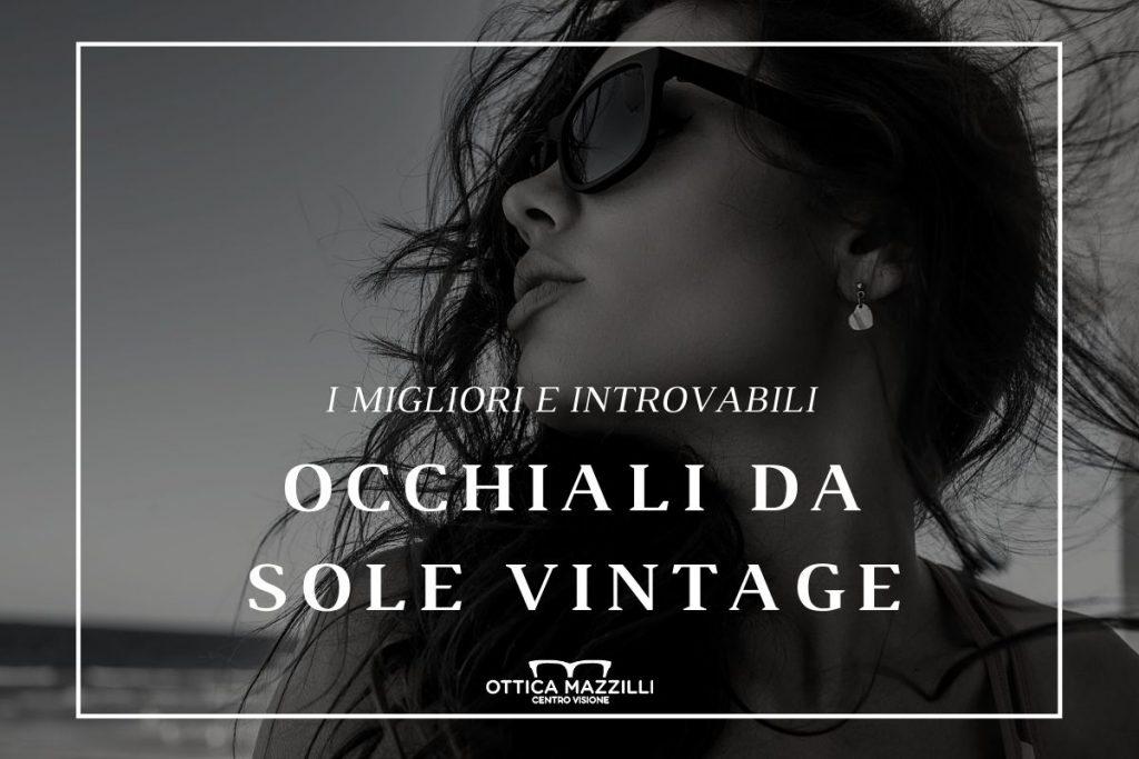ottica mazzilli corato occhiali da sole vintage